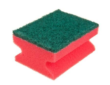 sponges isolated on white background photo