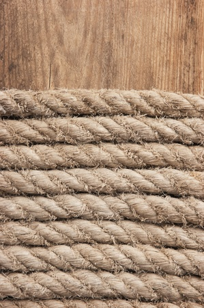braided flexible: background of hemp rope