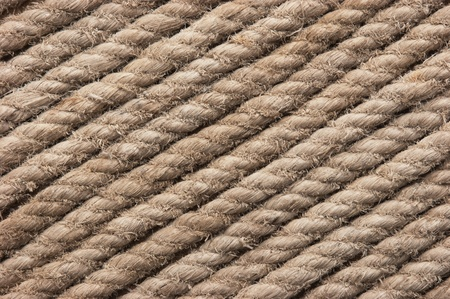 background of hemp rope Stock Photo - 9058846