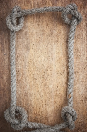 deportes nauticos: marco de cuerda Foto de archivo