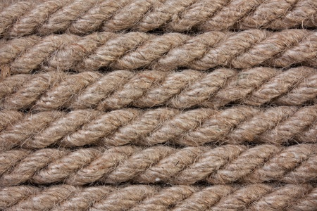 background of hemp rope Stock Photo - 9126263
