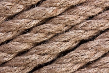 background of hemp rope photo