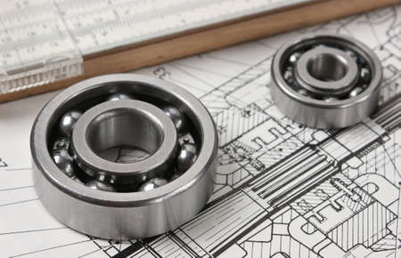 mechanical scheme and  bearing photo