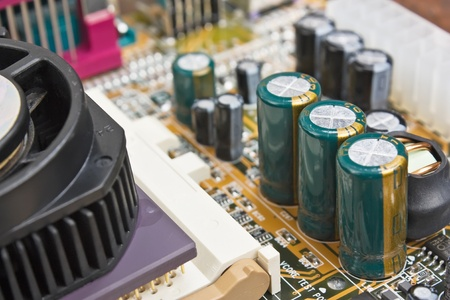 delineation: socket on the electronic board