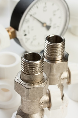 Set plumbing fittings photo
