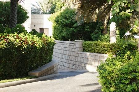 urban park in Dubai UAE photo