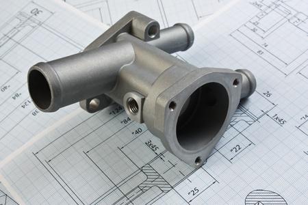 herramientas de mec�nica: piezas de autom�viles y de dibujo