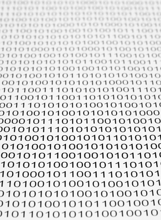 background of a binary code photo