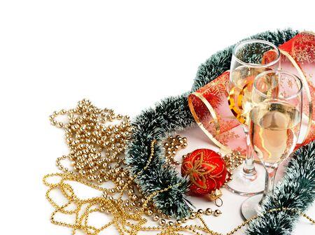 Christmas decoration  isolated on a white background Stock Photo - 15384596