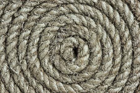 background of twisted hemp rope Stock Photo - 17166836