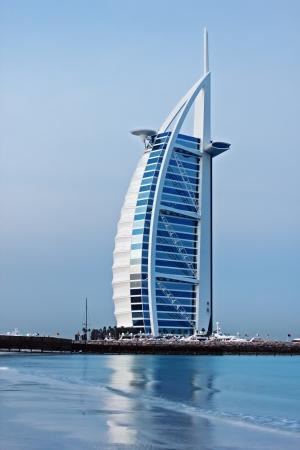 DUBAI, UAE-NOVEMBER 15: A general view of the world's first seven stars luxury hotel Burj Al Arab