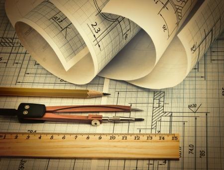 twisted technische tekening en tools