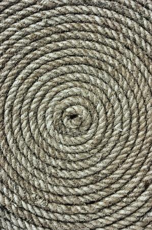 bonding rope: background of twisted hemp rope