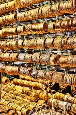 Gold market in Dubai, Deira Gold Souq photo