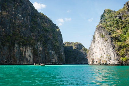The island of phi phi leh Krabi, Thailand photo