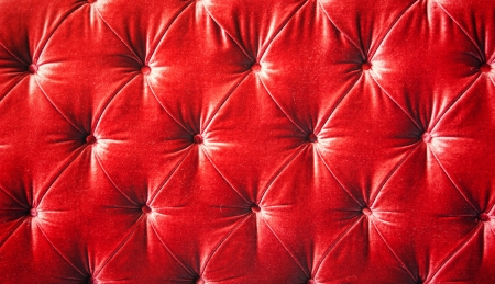 padding: Vintage red padding cushion texture