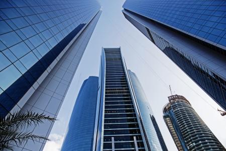 abu dhabi: Skyscrapers buildings in Abu Dhabi, United Arab Emirates