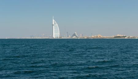 world's: A general view of the world s first seven stars luxury hotel Burj Al Arab