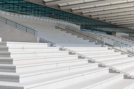 tribune: empty sports tribune