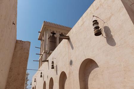bastakiya: Old Town Dubai Stock Photo
