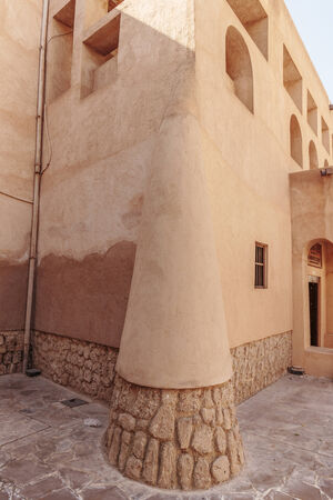 bastakiya: Old Town Dubai Editorial