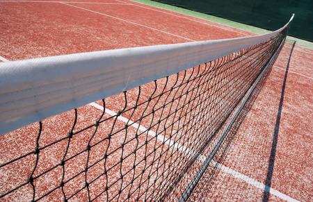 Tennis Court Net Close up photo