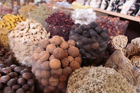 Spices on the Arab market, souk photo