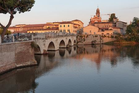 Bridge of Tiberius in Rimini