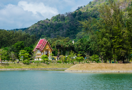 Island of Phuket in Thailand photo