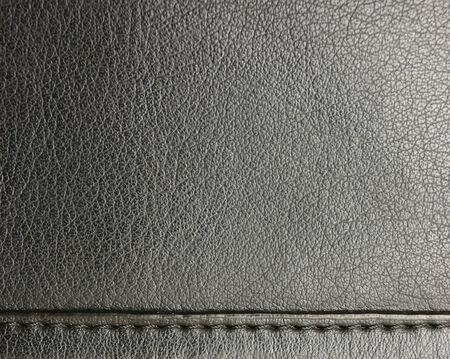 tooled leather: black leather background