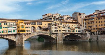 ponte vecchio: Ponte Vecchio in Florence , Italy Stock Photo