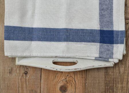 servilletas: servilletas en una bandeja