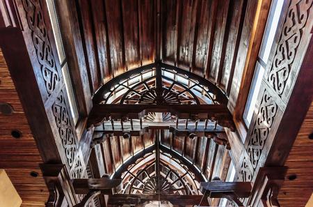 wooden  ceiling: Wooden ceiling, Market in Dubai Deira