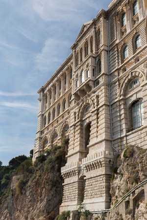 oceanographic: View of Oceanographic Museum of Monaco
