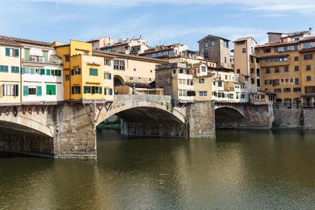 ponte vecchio: Ponte Vecchio in Florence, Italy Stock Photo