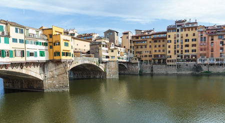 ponte vecchio: Ponte Vecchio in Florence, Italy Stock Photo