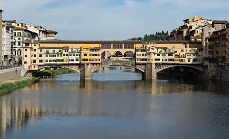 ponte vecchio: Ponte Vecchio in Florence , Italy Stock Photo