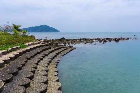 chang: Coastline of the tropical island Koh Chang
