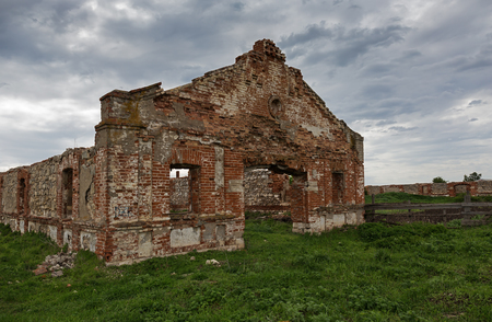 the 19th century: Dilapidated stud farm 19th century