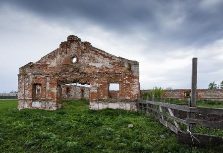 tacky: Dilapidated stud farm 19th century