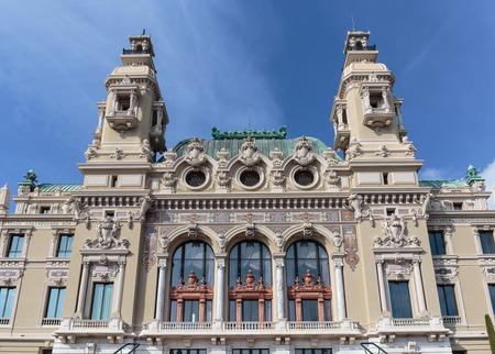 monte: Grand Casino in Monte Carlo, Monaco Editorial