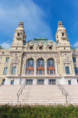 carlo: Grand Casino in Monte Carlo, Monaco Editorial