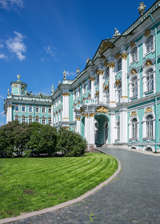 Winter Palace of St. Petersburg, Russia