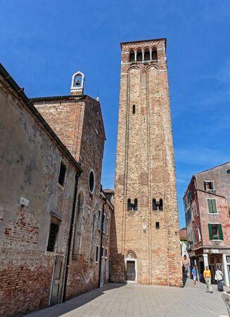 VENEZIA, ITALIA - 26 GIUGNO 2014: Campo San Silvestro