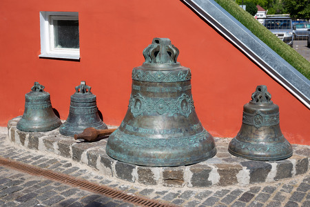 Old church bells in Russia 新聞圖片