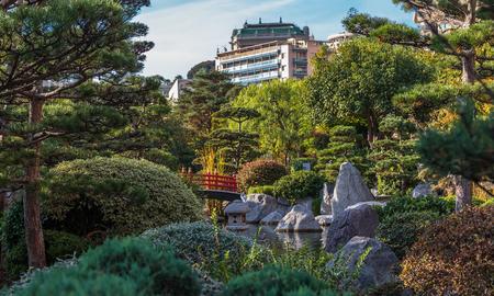 garden in Monte Carlo, Monaco