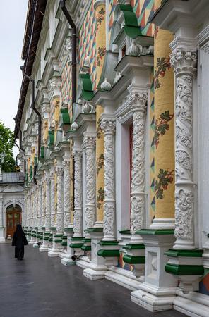 The famous Holy Trinity-St. Sergius Lavra, Sergiev Posad, Russia Stock Photo