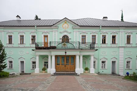 SERGIEV POSAD, RUSSIA - June 20, 2018: Famous Holy Trinity-St. Sergius Lavra