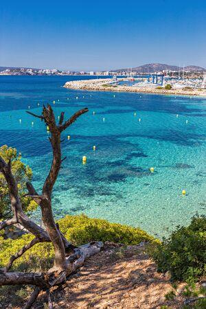 Seascape, South coast of Mallorca, Spain Banque d'images
