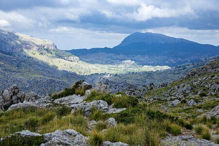 Picturesque landscape of Sierra de Tramuntana, Mallorca, Spain Imagens